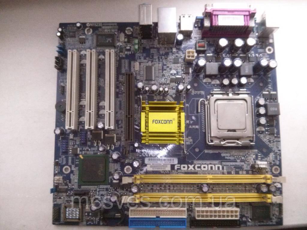 Материнская плата Foxconn 865G7MF-SH (s775, i865G, AGP, VGA)