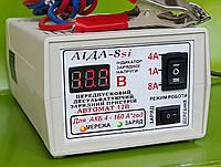 Аида 8si: зарядное устройство для кислотных и гелевых АКБ 4-160 Ач