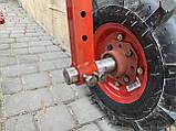Адаптер к мотоблоку длинный универсальная ступица с колесами 4,00-8 мотоблок, фото 2