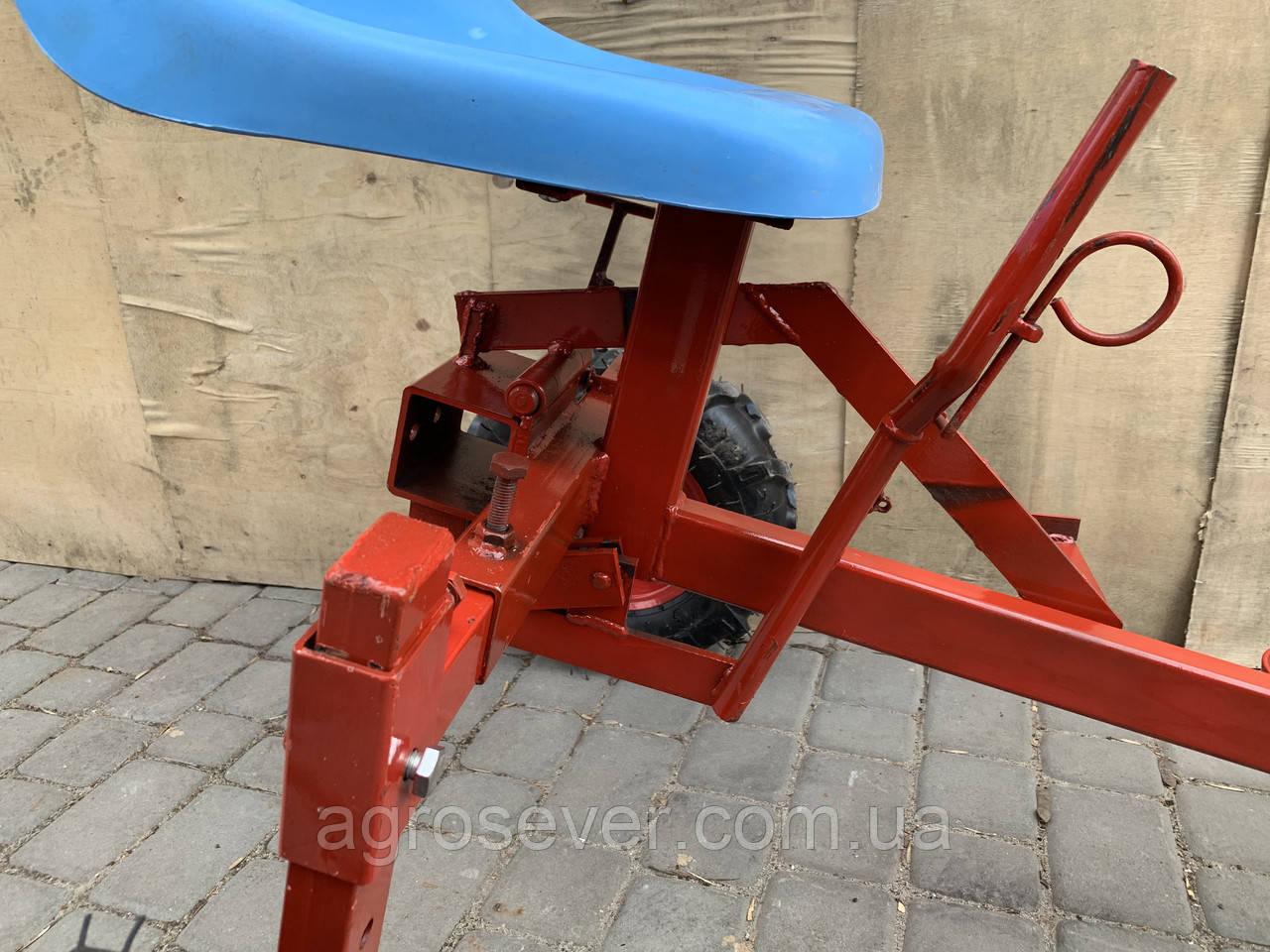 Адаптер к мотоблоку длинный универсальная ступица с колесами 4,00-8 мотоблок
