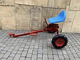 Адаптер к мотоблоку длинный универсальная ступица с колесами 4,00-8 мотоблок, фото 7