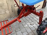 Адаптер к мотоблоку длинный универсальная ступица с колесами 4,00-8 мотоблок, фото 5