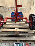 Адаптер к мотоблоку длинный универсальная ступица с колесами 4,00-8 мотоблок, фото 6