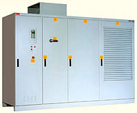 Приводы переменного тока среднего напряжения ACS 1000 с воздушным охлаждением.