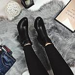 Женские весенние ботинки на каблуку, фото 4