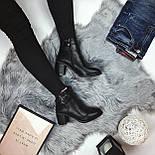 Женские весенние ботинки на каблуку, фото 5