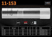 """Головка свечная 3/8"""", 16 x 90мм.,  NEO 11-153"""