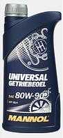Трансмиссионное масло Mannol Universal 80W90 GL-4 1L
