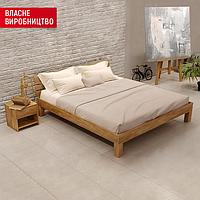 Ліжко з масиву Julia Дуб 200x200