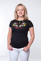 """Женская футболка вышиванка """"Колоски"""" короткий рукав"""