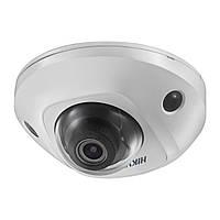 Wi-Fi IP камера купольная с микрофоном Hikvision DS-2CD2555FWD-IWS
