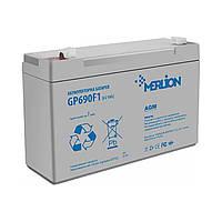 Аккумулятор 6В 9Ач Merlion AGM GP690F1