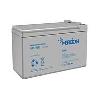 Аккумулятор 12В 7Ач Merlion AGM GP1272F2 для ИБП, UPS, ББП