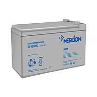 Аккумулятор 12В 9Ач Merlion AGM GP1290F2 для ИБП, UPS, ББП