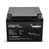 Аккумулятор 12В 26Ач Merlion AGM GP12260F3 для ИБП, UPS