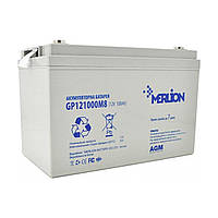 Аккумулятор 12В 100Ач Merlion AGM GP121000M8 для ИБП, UPS