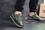 Мужские кроссовки Reebok (зеленые), фото 3