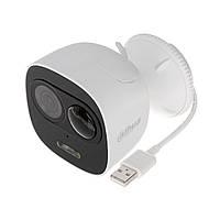 Уличная Smart Wi-Fi камера с сиреной и микрофоном Dahua DH-IPC-C26EP