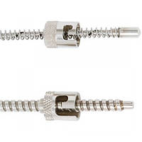 Adjustable bayonet thermocouple for the plastics machinery industry