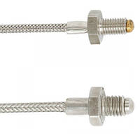 Nozzle thermocouple for the plastics machinery industry