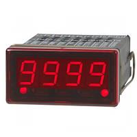 Цифровой индикатор для установки в панель, размеры 48 x 24 мм, 4-разрядный, с многофункциональным входом