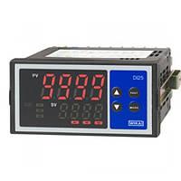 Цифровой индикатор для установки в панель,размеры 96 x 48 мм, 5-разрядный,вход мультифункциональный или двойной (для стандартных сигналов) с расче...