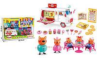 """Детский игровой набор Три кота """"Пищевой фургон"""" свет, звук, фото 1"""