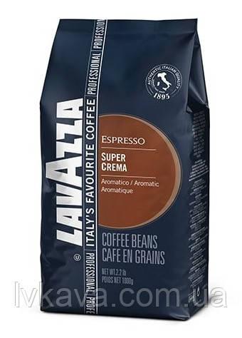 Кофе в зернах  Lavazza Super Crema Espresso ,  1 кг