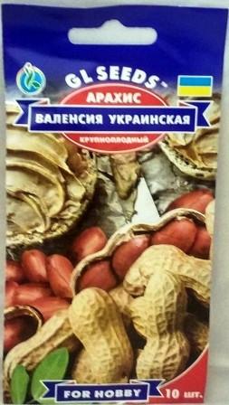 Арахіс Валенсія Українська 5н (GL SEEDS)
