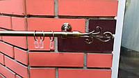 Карниз кованый одинарный 19мм Фала антик -1,6м, фото 1