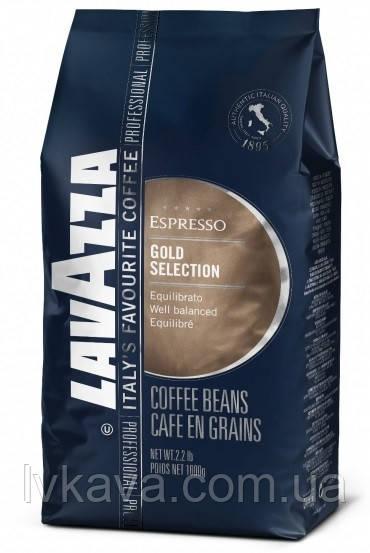 Кофе в зернах  Lavazza Gold Selection Espresso ,  1 кг