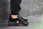 Мужские кроссовки Champion (черно-красные), фото 4