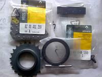 Ремкомплект цепи маслонасоса Renault Trafic  (шестерня+цепь 8200401259 + направляющая 8200408155 + 7700875032 2шт + 7703008193 + сальник 7700103245