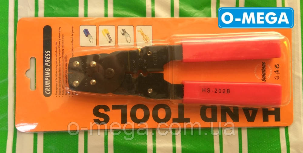 Клещи для обжима разрезных наконечников (DJ) HS-202B
