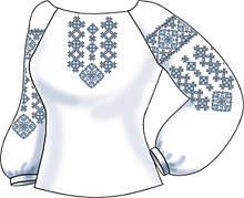 Заготовки для вишивки жіночого одягу