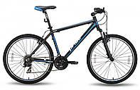 "Велосипед 26'' PRIDE XC-2.0 рама - 21"" черно-синий матовый 2015"