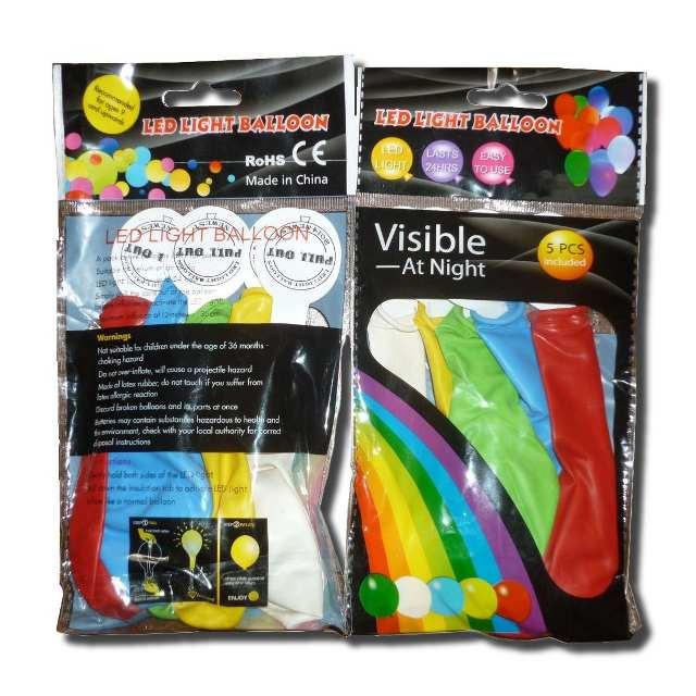 """Светящиеся шарики SoFun 12""""(30 см) разноцветные"""