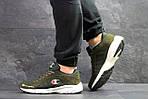 Мужские кроссовки Champion (Темно-зеленые), фото 4