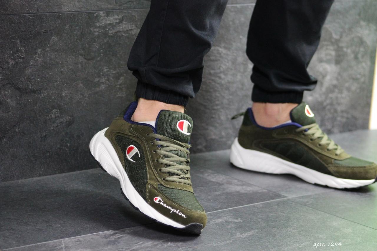 Мужские кроссовки Champion (Темно-зеленые)