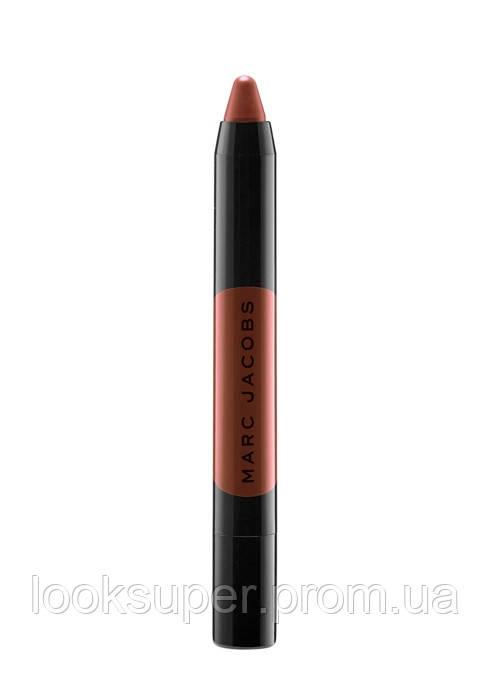 Помада-карандаш MARC JACOBS BEAUTY  Le Marc Liquid Lip Crayon  BURN NOTICE