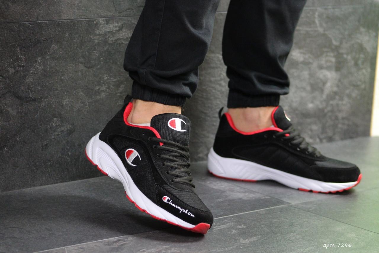Мужские кроссовки Champion (Черно-белые)