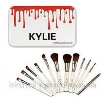Кисточки для макияжа KYLIE,набор 12 шт.