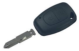 Заготовка ключа RENAULT 2 кнопки (корпус), лезвие NE73