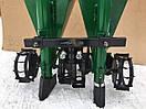 Картоплесаджалка мототракторная дворядна ланцюгова 120 л (одноточечное кріплення), фото 2
