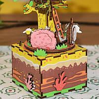 «Домик на дереве» Музыкальная шкатулка-конструктор