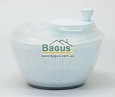 Сушка карусель для салата и зелени пластиковая d-25см (цвет - белый) Irak Plastik SG-230-4