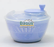 Сушка карусель для салата и зелени пластиковая d-25см (цвет - сиреневый) Irak Plastik SG-230-5