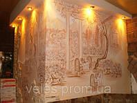 Лепка и роспись стен