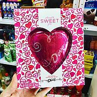 Шоколадное сердце Dove в подарочной упаковке