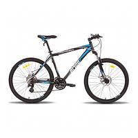 "Велосипед 26'' PRIDE XC-250 HD рама - 19"" черно-синий матовый 2015"